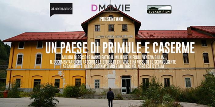 "Proiezione In Anteprima Di ""Primule E Caserme"""